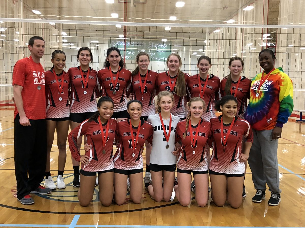2nd Place - Division 1 - Carolina Region Tournament - Jan 2018